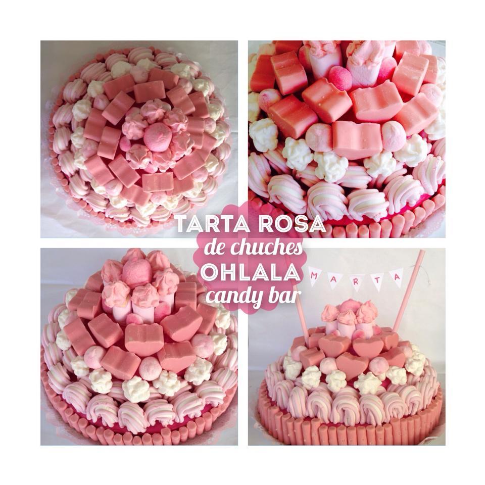tarta-rosa-de-chuches-ohlala-candy-bar